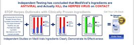 MediViral Extra Strength Herpes Daily Supplement Remedy Shingles image 3