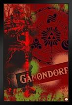Framed Legend of Zelda Ganondorf Poster - $90.00