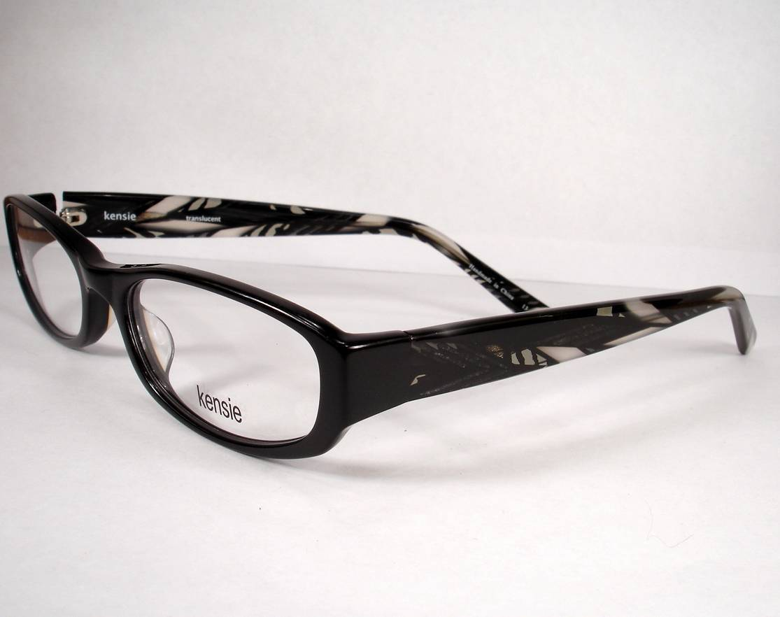 Kensie Eyeglasses Translucent Black Women and 50 similar items