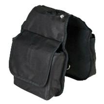 "7.5'X7.5"" Hilason Western Tack Horse Horn Bag Black Pockets U-41BK - $22.72"