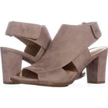 NEW Naturalizer Lucky Block Heel Sandals Doe 7W - $27.89