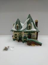 Dept 56 North Pole Series Elsie's Gingerbread Real Smoking Chimney Ltd E... - $39.59
