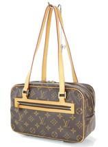 Authentic LOUIS VUITTON Cite MM Monogram Canvas Shoulder Hand Bag Purse ... - $495.00