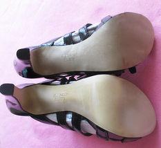 Franco Sarto Asset Patent Leather Strappy Slide Buckle Heels Sandals Shoes 6.5 image 10