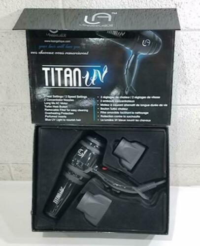 Le Angelique Titan UV Ultraviolet Blue Light Hair Dryer 2000 watts Box