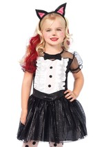 "Toddler/Girl's ""Tuxedo Kitty"" 3 Pc Halloween Costume by Leg Avenue™#c48146 - $29.95"