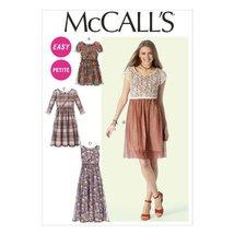 McCall Pattern Company M6923 Misses/Miss Petite Dresses, Size B5 - $14.21