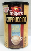 Folgers French Vanilla Cappuccino Instant Coffee Beverage Mix 16 oz - $7.91