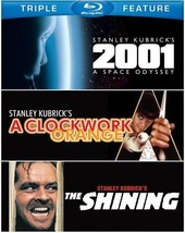 2001: A Space Odyssey / A Clockwork Orange / The Shining [Blu-ray]