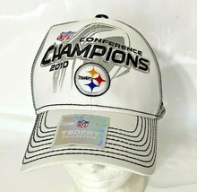 Reebok Onfield NFL Pittsburgh Steelers 2010 Conference Champions Hat - O... - $7.99