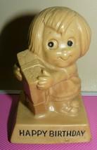 "RUSS BERRIE & CO. 1970 HAPPY BIRTHDAY Figurine 4"" - $11.63"