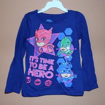 PJ MaskToddler Girls Long Sleeve T-Shirts 2T,3T,4T NWT - $11.19