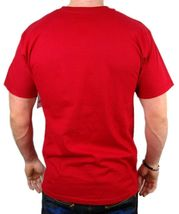 NEW NWT LEVI'S MEN'S PREMIUM CLASSIC GRAPHIC COTTON T-SHIRT SHIRT TEE RED image 4