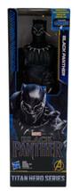 BLACK PANTHER Marvel Titan Hero Series 12 Inch Hasbro Avengers Action Fi... - $19.79