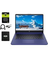 """2021 HP 14"""" HD Laptop Thin and Light, Intel Celeron N4020 (Up tp 2.8GHz)... - $469.00"""