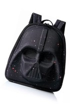 Star Wars Darth Vader 3D Molded Nylon Black Laptop Backpack Galaxy Print... - $46.60