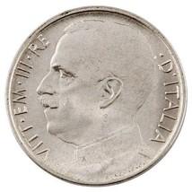 1920 ITALY-R 50 CENTESIMI PIECE PLAIN EDGE - $54.44