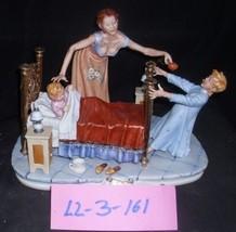 CAPODIMONTE Mother & Childs Baby Teeth Laurenz  Italy Sculpture COA LZ3 161 - $829.99