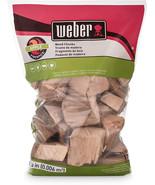 Weber 17139 Apple Wood Chunks, 350 cu. in. (0.006 Cubic Meter) - $10.99+