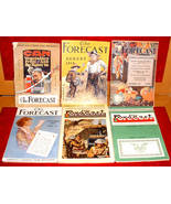 6 Forecast 1918 Food Magazine World War I food illustrated how-to ads - $30.00