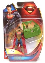 "Superman Man of Steel 4"" Figure - Auto Attack Superman - Y0800 - NEW - $14.08"