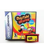 Rhythm Heaven Silver + Case (aka Tengoku) English Translated GBA Gameboy... - $22.31