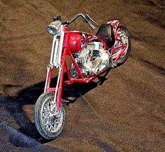 Chopper Motorcycle Figurine Replica 305-BVintage image 4