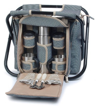 SIGHTSEER PICNIC BASKET WITH FOLDING CHAIR FOR TWO (2) - ABT - $60.00