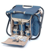 SIGHTSEER PICNIC BASKET WITH FOLDING CHAIR FOR ... - $60.00