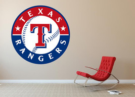 Texas Rangers MLB Baseball Wall Decal Decor For Home Car Laptop Sports - $20.89