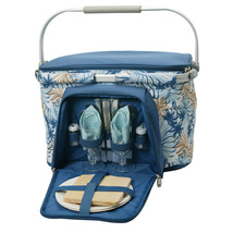 FOLDAWAY ALUMINIUM FRAMED PICNIC COOLER BASKET FOR TWO (2) - $65.00