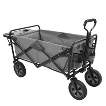 Mac Sports Collapsible Folding Outdoor Utility Wagon Wagon with Side Tab... - $135.92