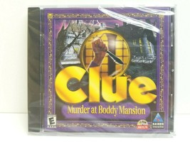 Clue Murder at Boddy Mansion Jewel Case PC 1999 Hasbro Family Strategy Game NEW - $9.89