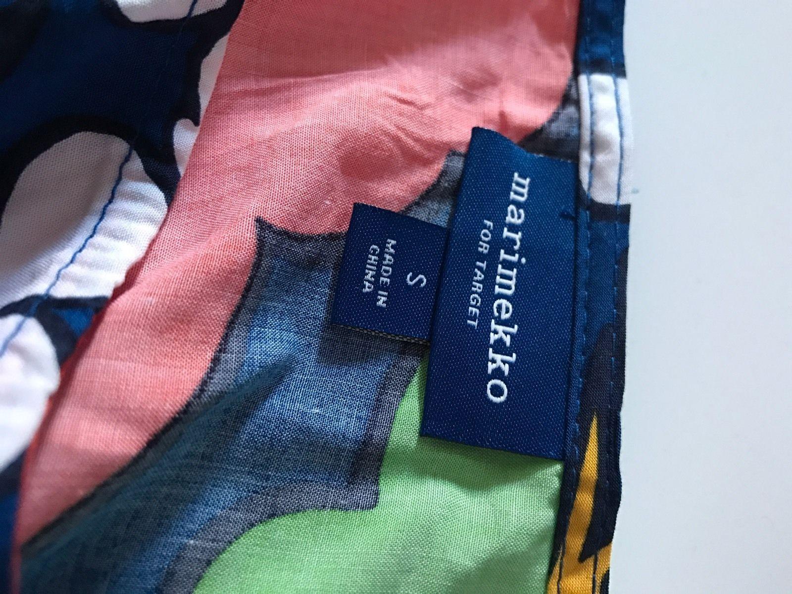 2e0924b48068f MARIMEKKO FOR TARGET Women s Small Tunic Kukkatori Print Primary Swim Cover  Up