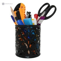 1 Pcs 4 Inch Dia x 4Inch High Round Floral Pencil Holder Pen Holder for ... - $11.40