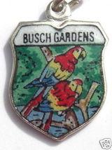 BUSCH GARDENS Florida Vintag Silver Travel Shie... - $22.73