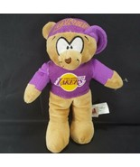 "NBA Los Angeles Lakers Plush Teddy Bear 9"" Good Stuff Stuffed Animal Kobe - $12.86"