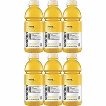 Vitamin Water Energy - Tropical Citrus, 20 Fl Oz Bottle Pack of 6, Total of 120