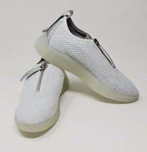 DKNY Womens Slip On Fashion Sneakers, Silver, Size 7.5M - $79.99