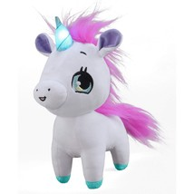 Wish Me Pets - Pinky The Unicorn with Green Horn - $26.31
