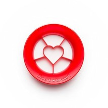 PELEG DESIGN Sweet Heart Heart Shape Strawberry Cutter - $14.17