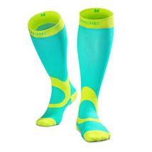 Football Compression Socks Running Marathon Long Stockings Breathable Sp... - $29.95