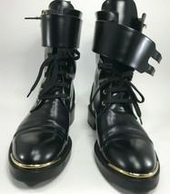 Louis Vuitton -  Leather Ranger Woman Boots - Size 37 1/2 (US 7.5) - Black - $989.95