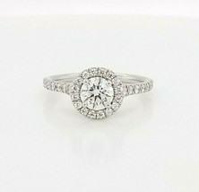 Hearts on Fire Diamond Engagement Ring Platinum $9,700 Retail, Size 6.5 - $5,544.00