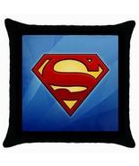 NEW* HOT SUPERMAN LOGO  Cushion Cover Throw Pil... - $18.99