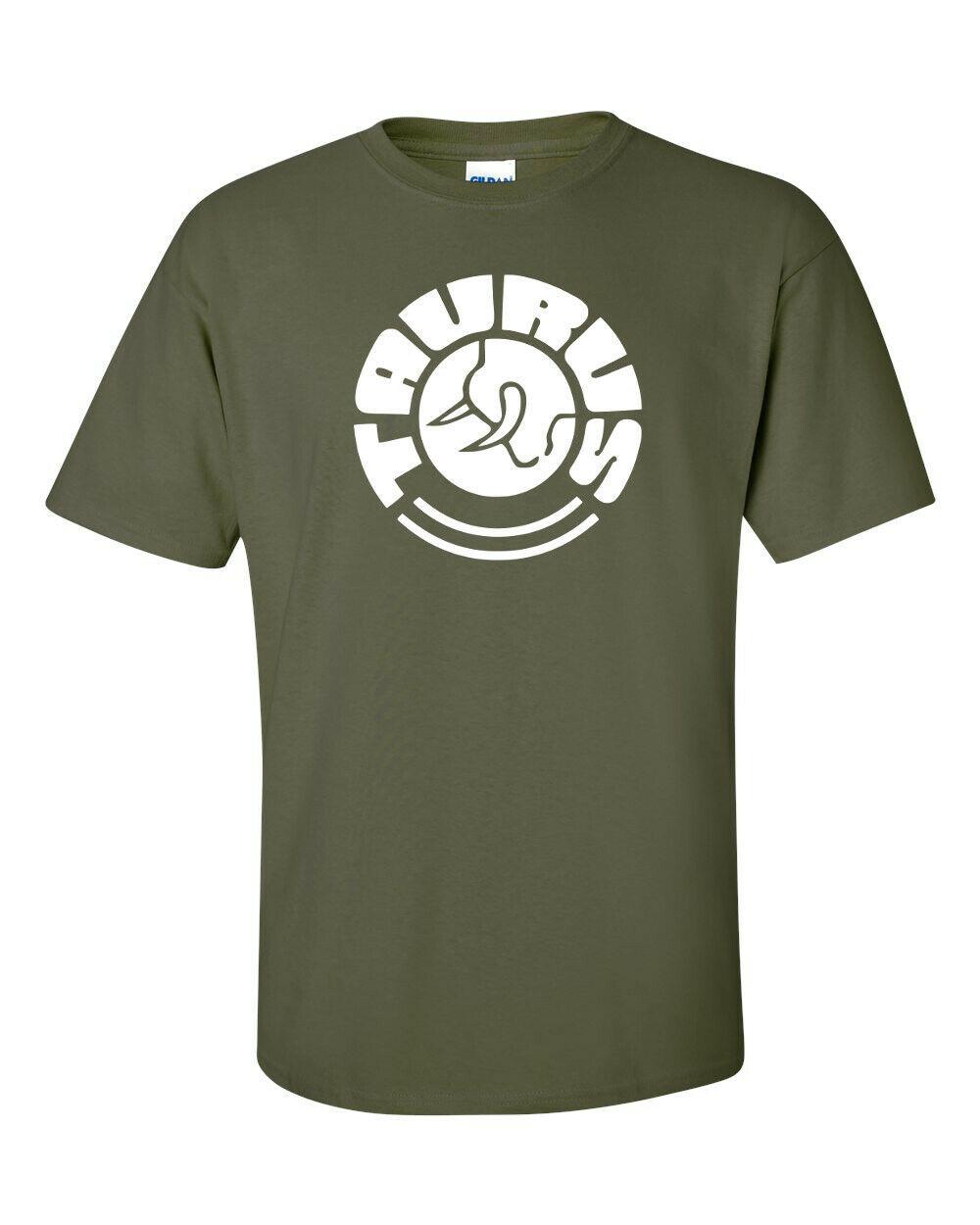 Taurus Firearms White Logo T Shirt 2nd Amendment Pro Gun Rights Rifle Pistol Tee image 5