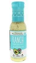 Primal Kitchen, Ranch Dressing, Made with 100% Avocado Oil, Size - 8 FZ, Quantit