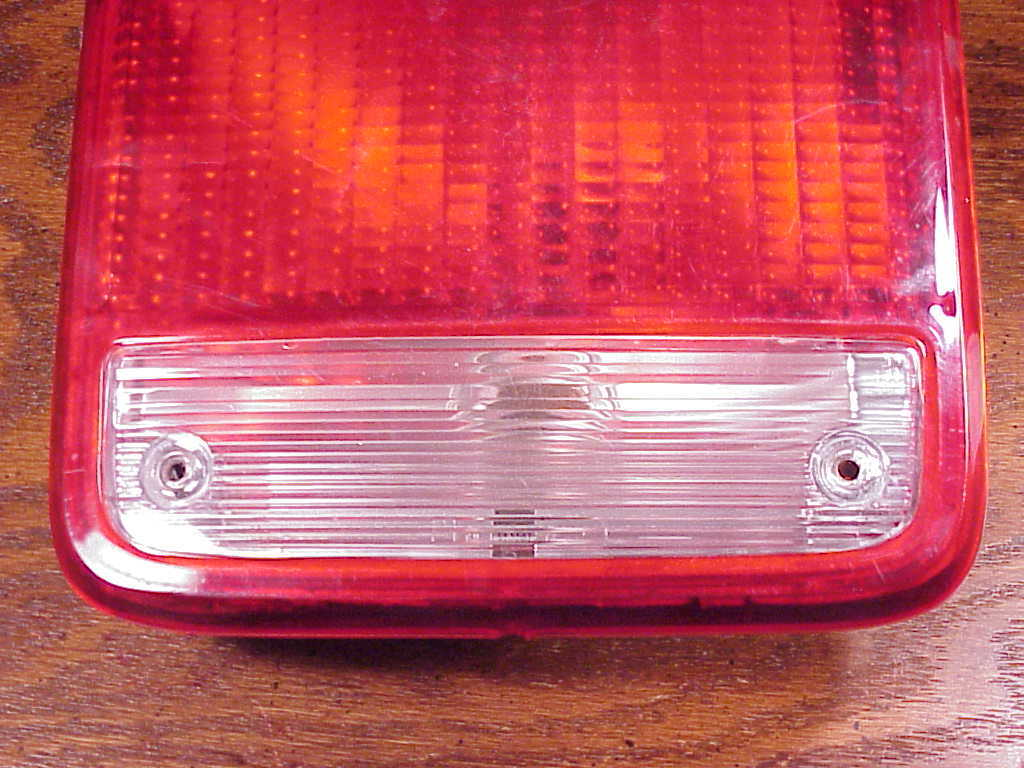 Used 1985 to 1996 Chevrolet G30 Tail Light, Passenger Side, Chevy Van 16503234