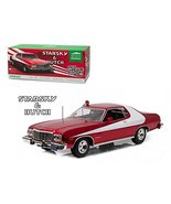 """1976 Ford Gran Torino Red Chrome Edition """"Starsky and Hutch"""" (TV Series ... - $105.57"""