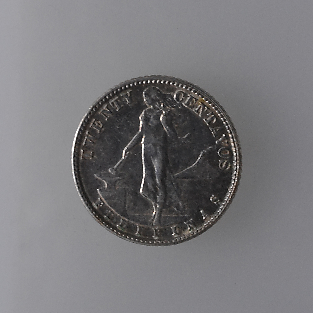 Philippine 5 Cents Coins: U.S. Philippine 20 Cents Silver Coins SET: One 1944D & One